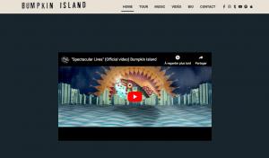 Site Web – Bumpkin Island
