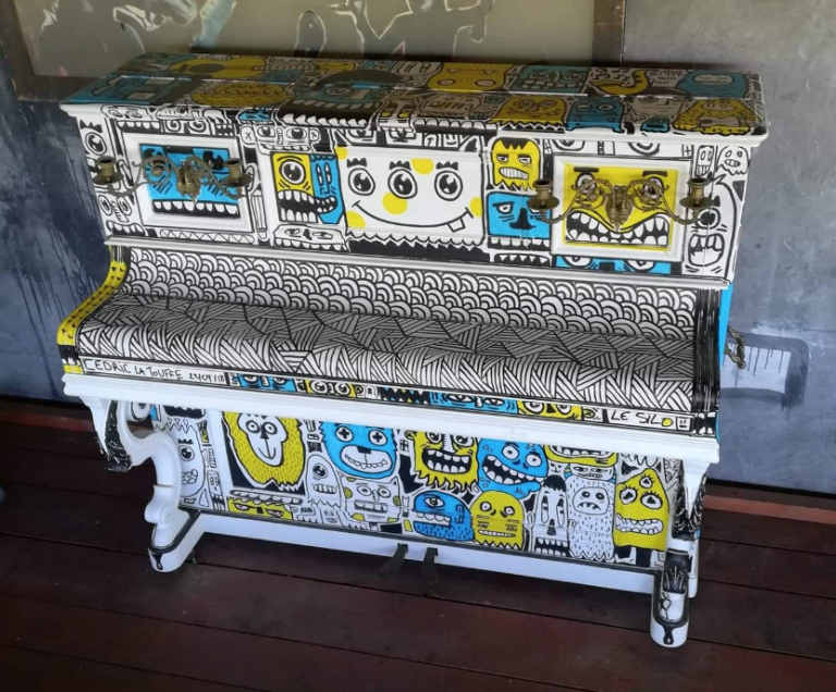 Customisation piano – Le silo / superforma
