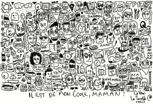 Lecture dessiné – «Il est de mon école,  maman !»